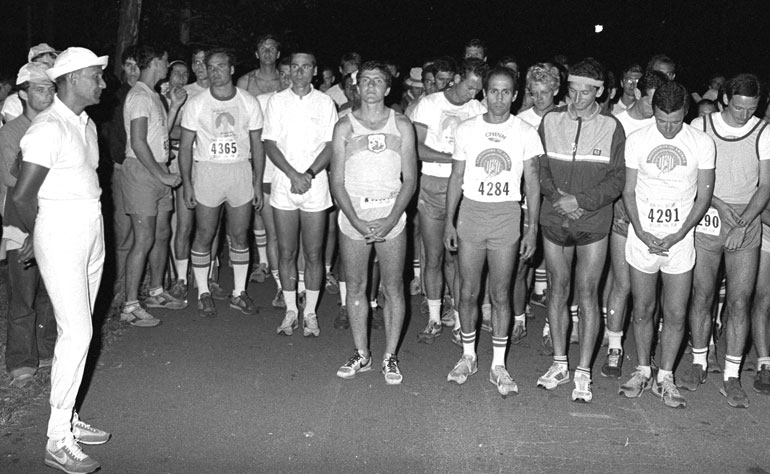 Start of 50 mile race 1981 Photo by Bhashwar