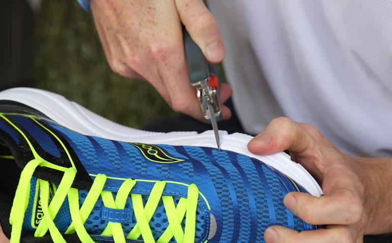 cutting-shoe