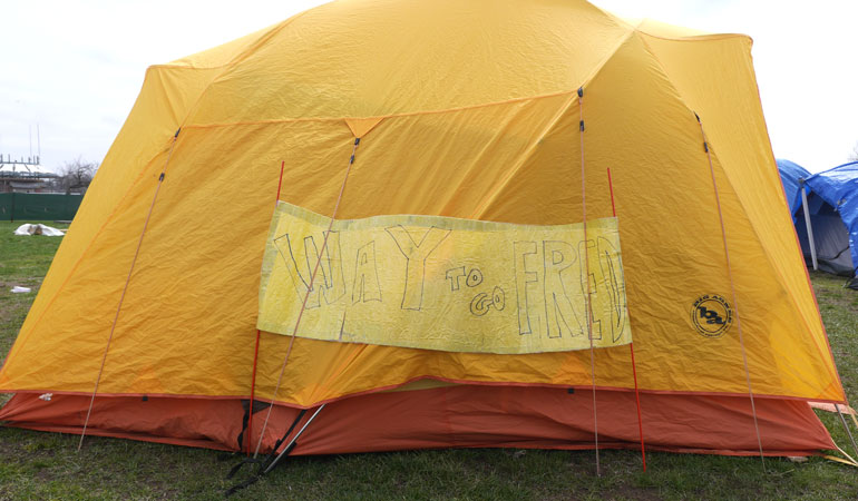 Fred-tent