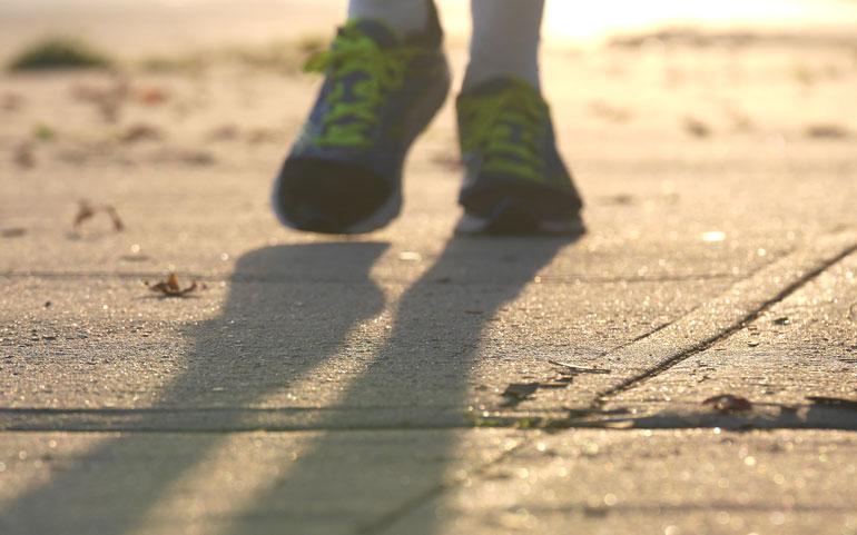 foot-shadows