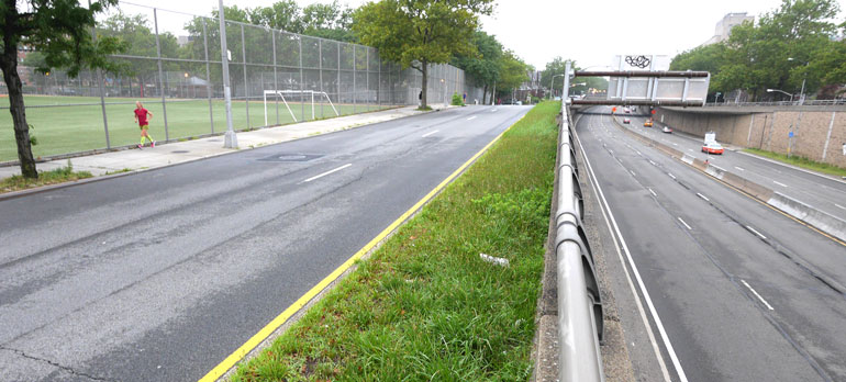 wide-service-road