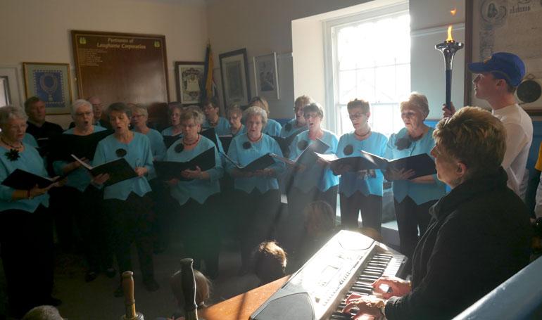 women-singing